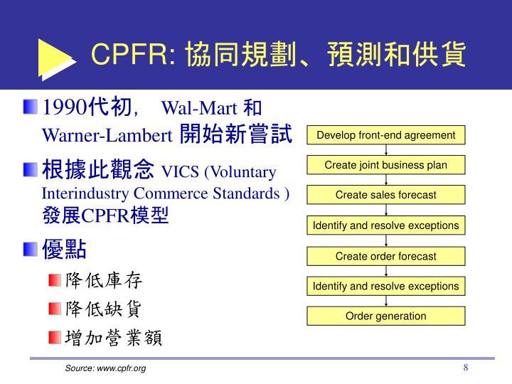 CPFR:
