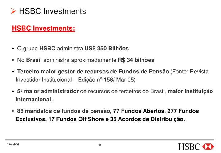 HSBC Investments: