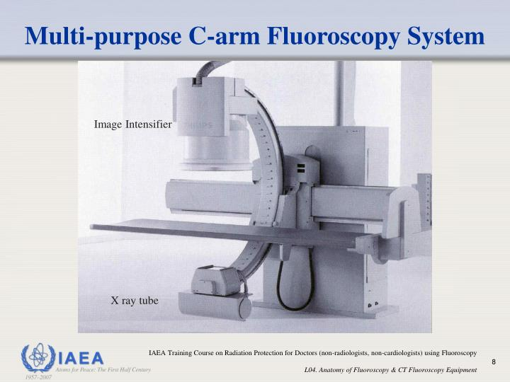 Multi-purpose C-arm Fluoroscopy System