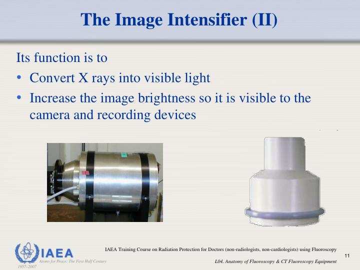 The Image Intensifier (II)