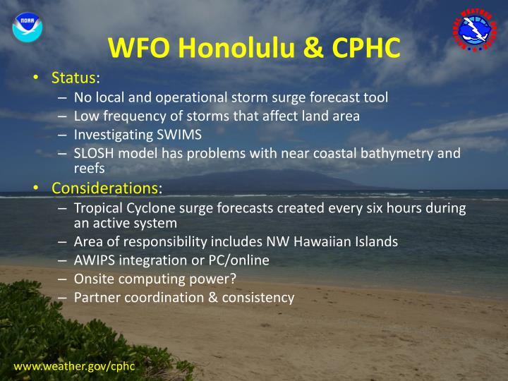 WFO Honolulu & CPHC