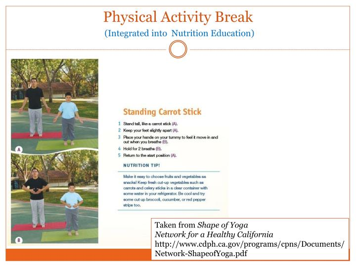 Physical Activity Break