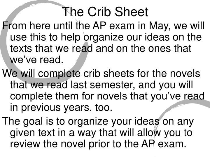 The Crib Sheet