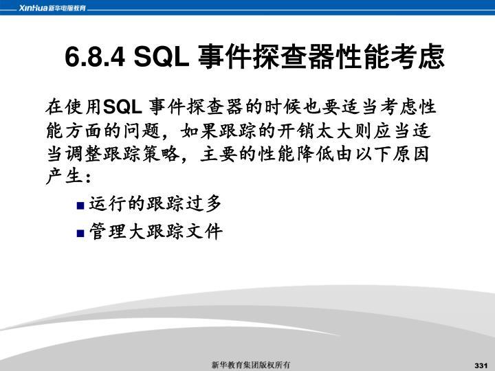6.8.4 SQL