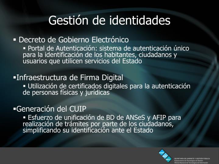 Decreto de Gobierno Electrónico