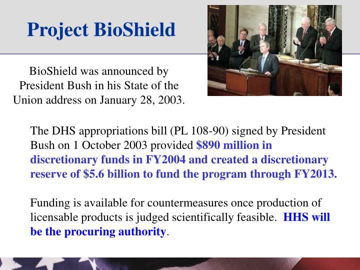 Project BioShield