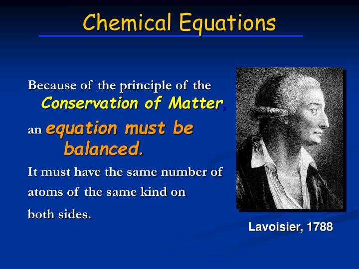 Lavoisier, 1788