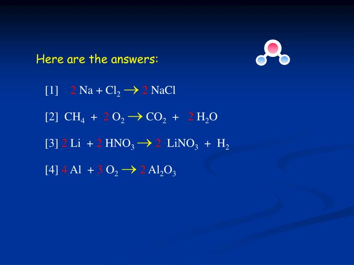 Here are the answers: