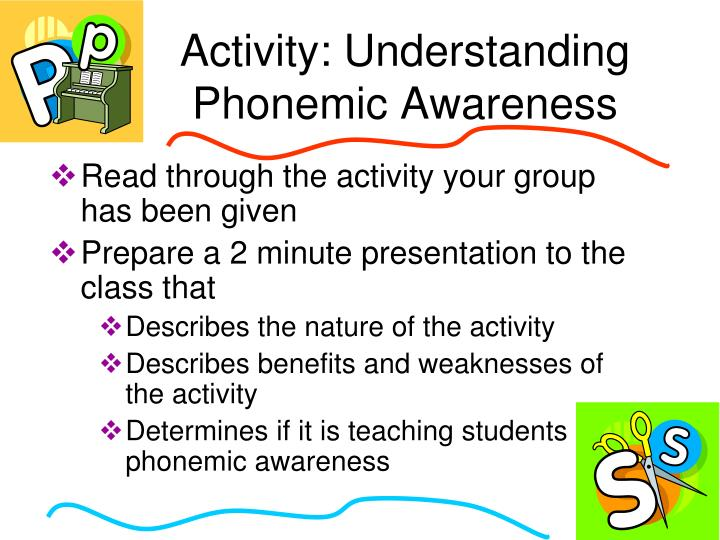 Read through the activity your group has been given
