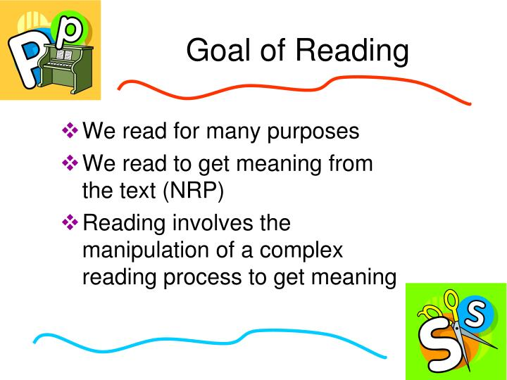 Goal of Reading