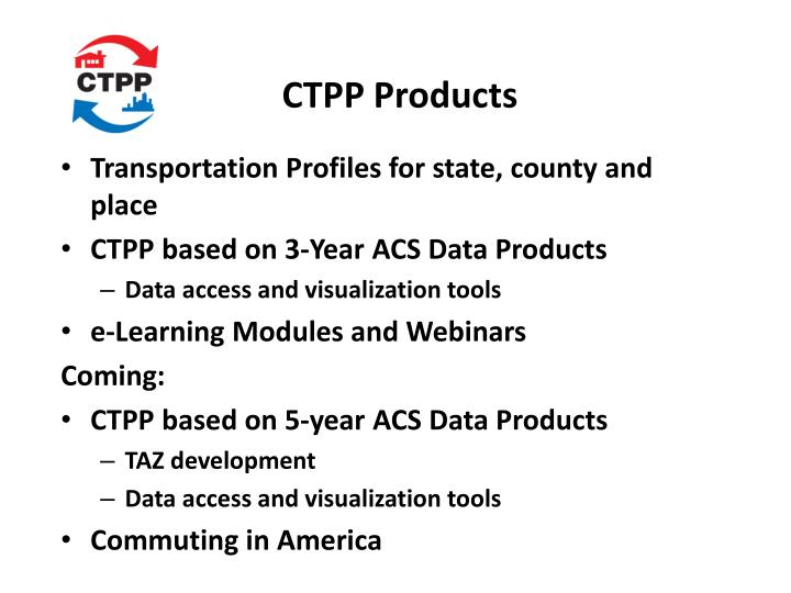 CTPP Products
