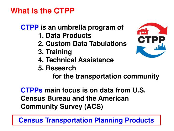What is the CTPP