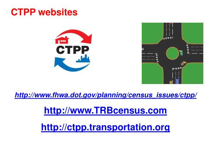 CTPP websites