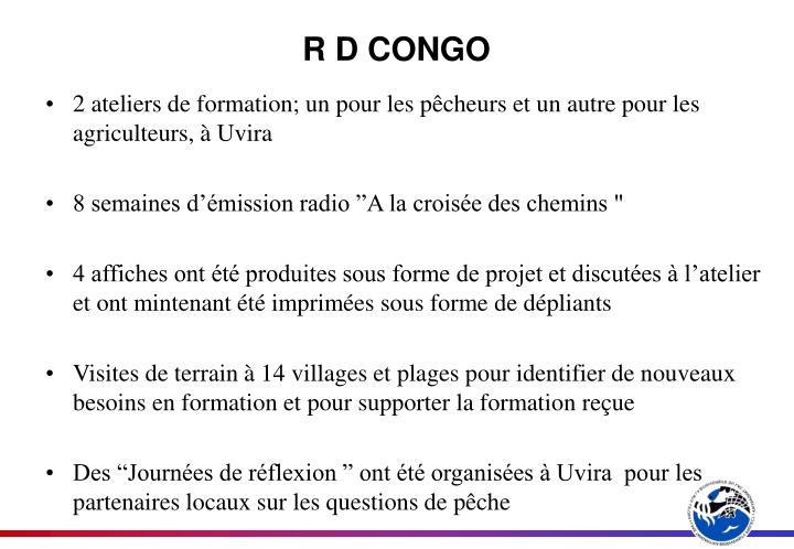 R D CONGO