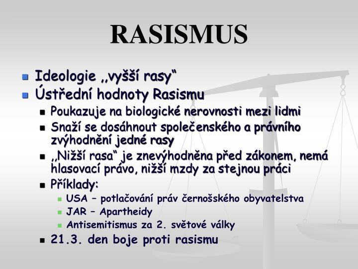 RASISMUS