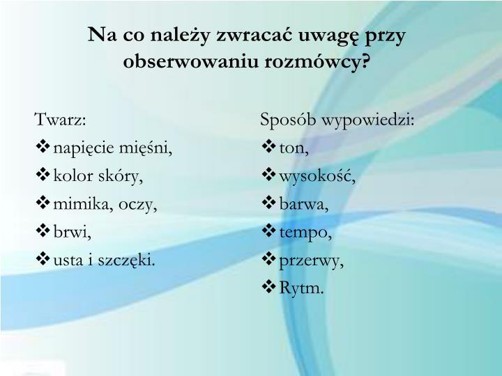 Twarz: