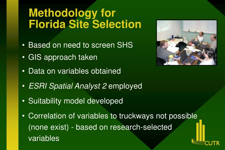 Methodology for