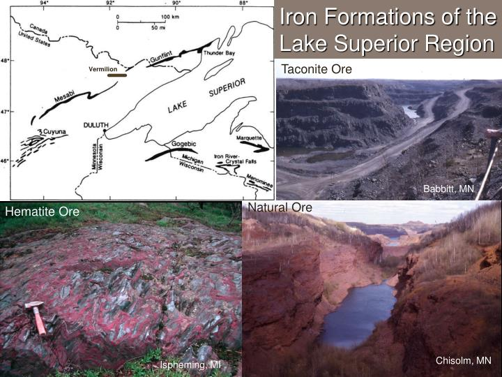 Iron Formations of the