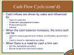cash flow cycle cont d