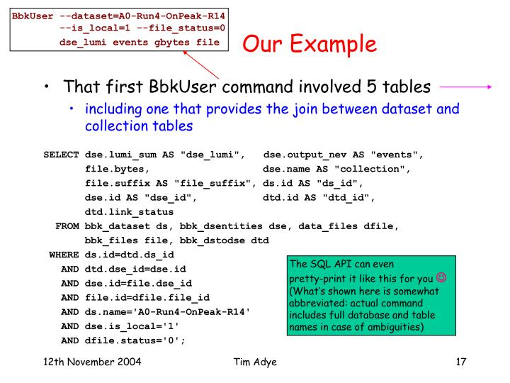 BbkUser --dataset=A0-Run4-OnPeak-R14