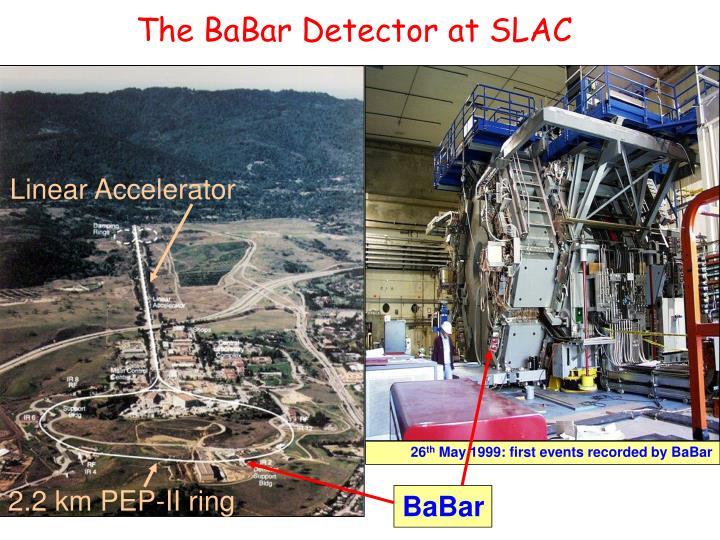 The BaBar Detector at SLAC