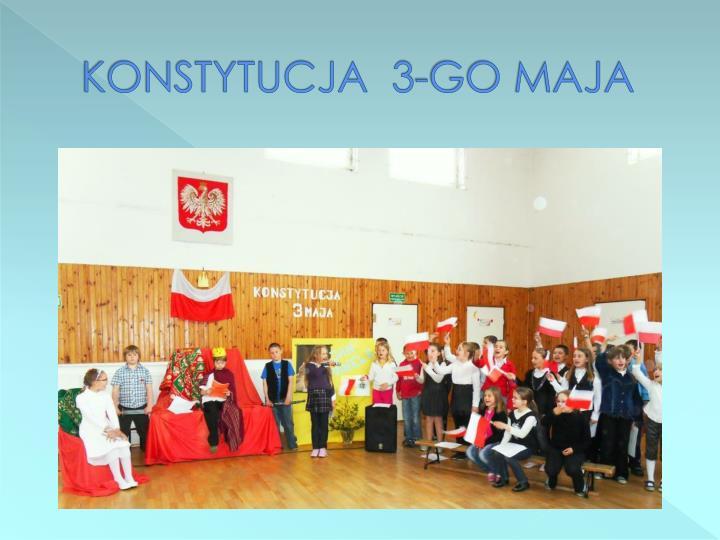 KONSTYTUCJA  3-GO MAJA