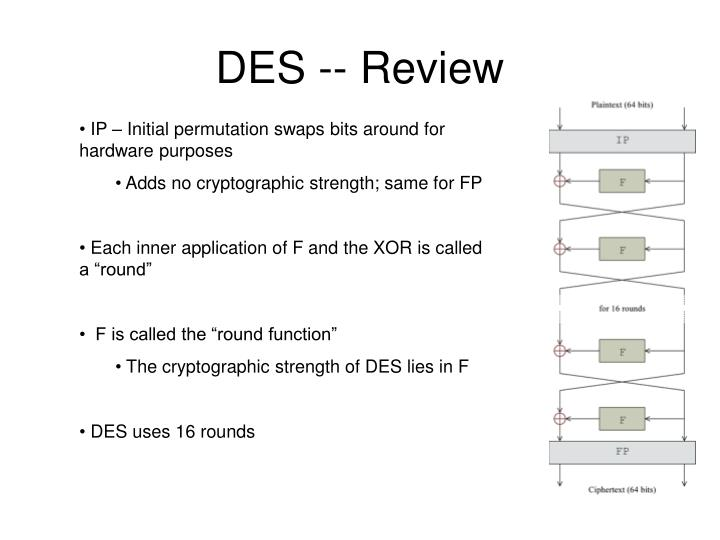Des review