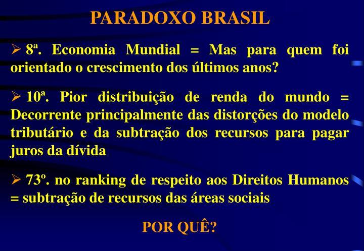 PARADOXO BRASIL