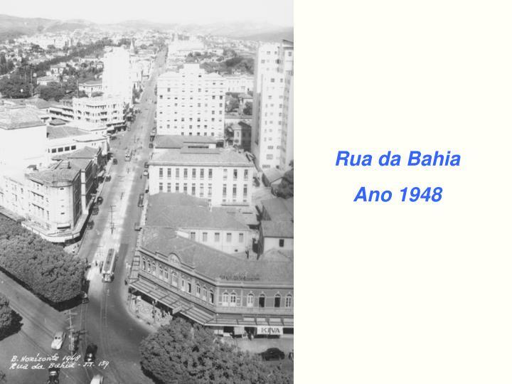 Rua da Bahia