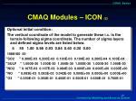 cmaq modules icon 2