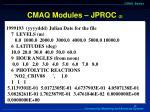 cmaq modules jproc 2