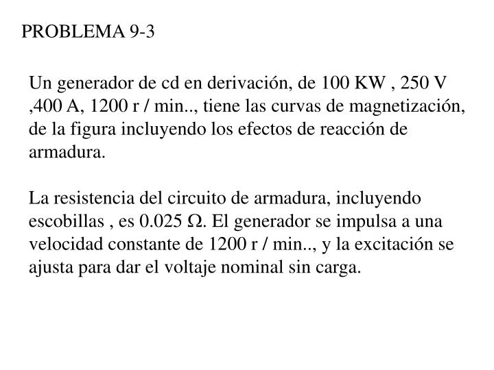 PROBLEMA 9-3