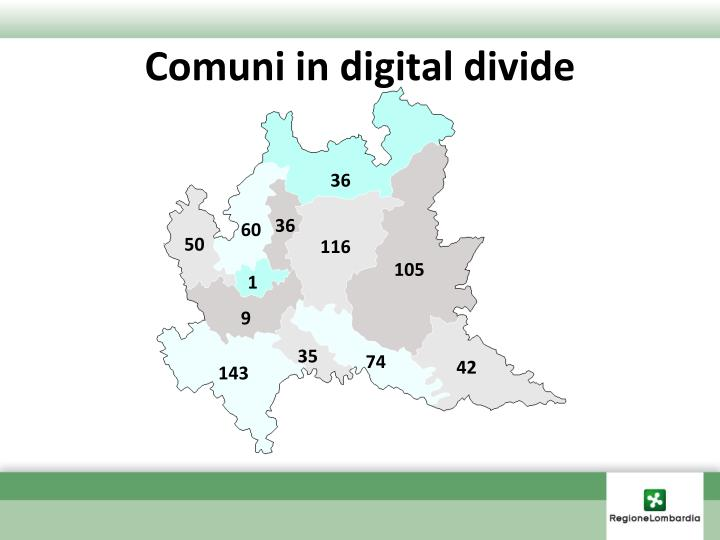 Comuni in digital divide
