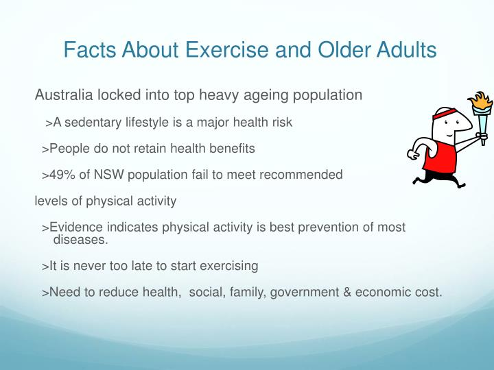 Facts About Exercise and Older Adults