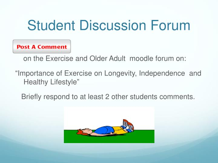 Student Discussion Forum
