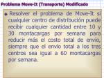 problema move it transporte modificado