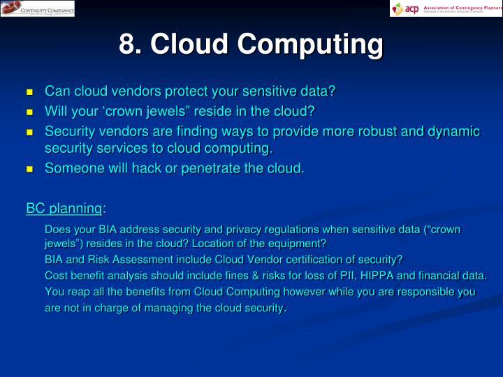 8. Cloud Computing