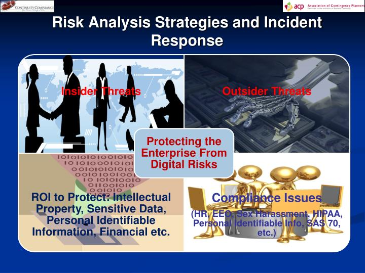 Risk Analysis Strategies and Incident Response