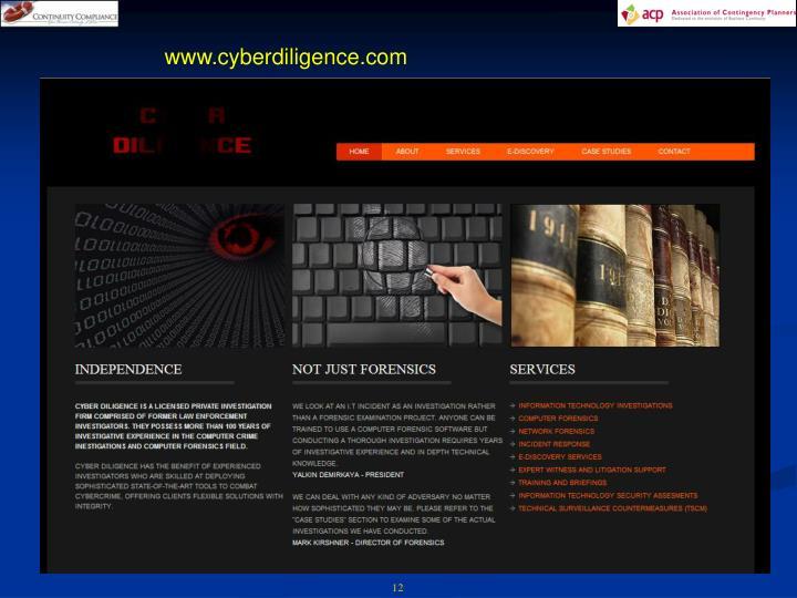 www.cyberdiligence.com