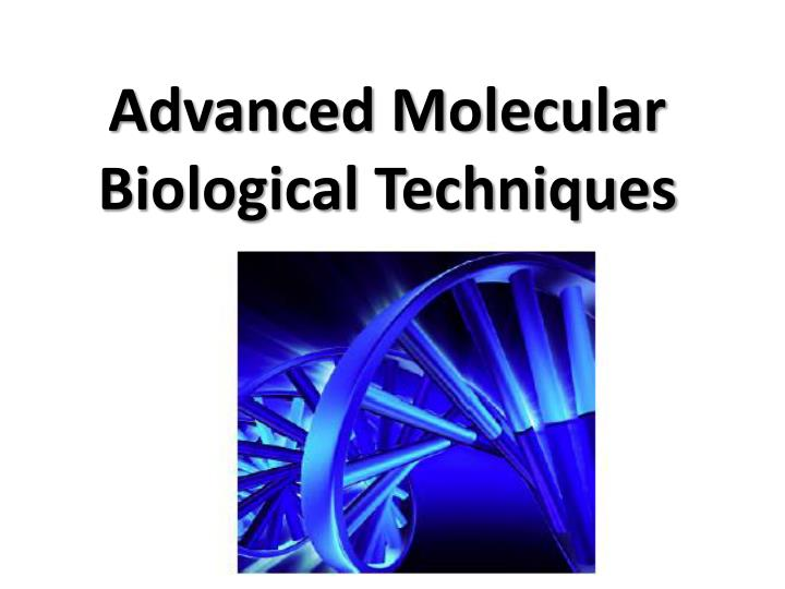 introduction to various biological molecules essay