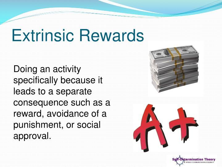 Extrinsic Rewards