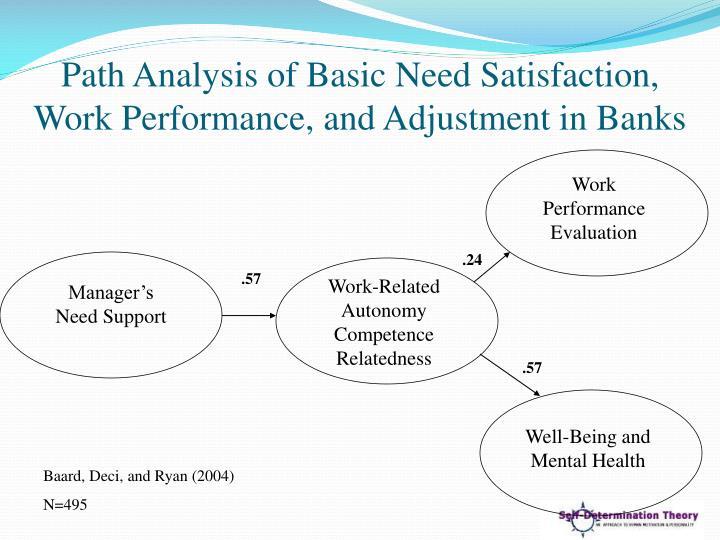 Path Analysis of Basic Need Satisfaction,
