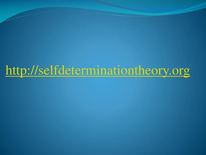 http://selfdeterminationtheory.org