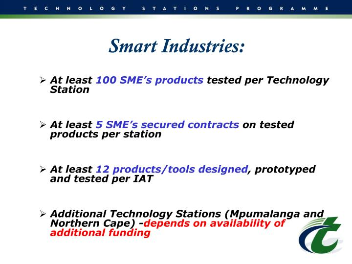 Smart Industries: