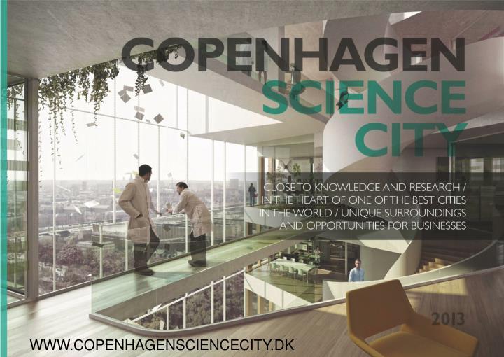 WWW.COPENHAGENSCIENCECITY.DK