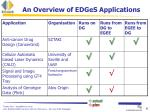 an overview of edges applications1