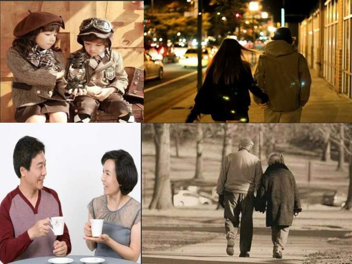 人的一生总会经历一些过程,从无忧无虑快乐的童年到青春的懵懂期,再到慢慢的慢慢的成熟懂事,谈恋爱,结婚,生子,再到奋斗的中年时期,和最后遗养天年的老年 时期。这一路上走过来,有些人会陪你走四分之三的路程,而这个人就是你结婚的对象。