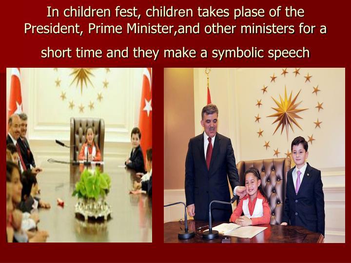 In children fest, child