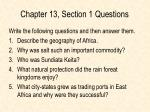 chapter 13 section 1 questions