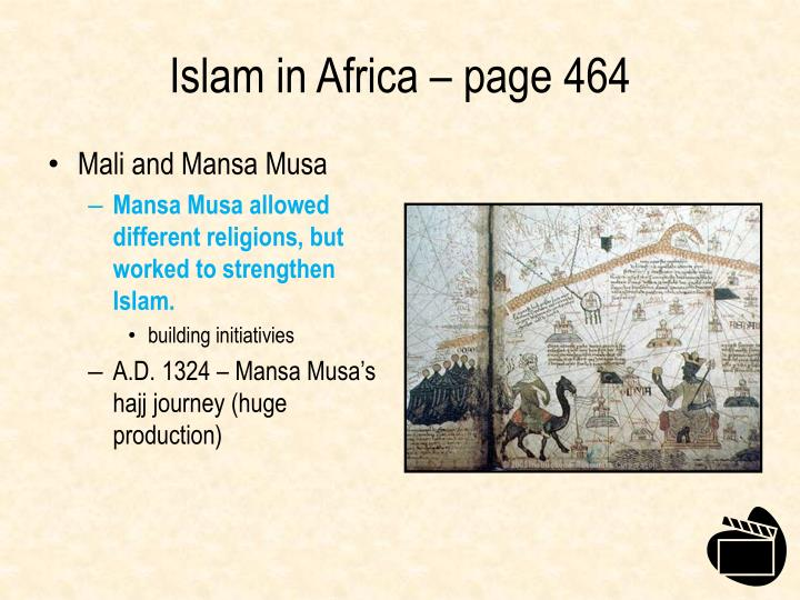 Islam in Africa – page 464